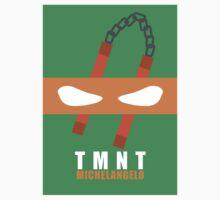 Michelangelo - TMNT Minimaliste T-Shirt