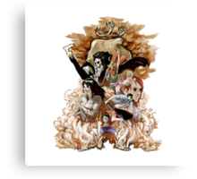 "One Piece ""Mugiwara"" Canvas Print"