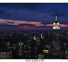 New York City Skyline by Speedracer