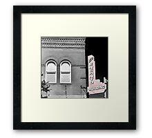 El Encanto Building Framed Print