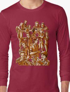 SPN Heroes and villains Long Sleeve T-Shirt
