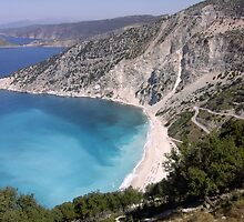 Mytros Beach, Kafelonia, Greece  by mikequigley