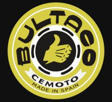 Bultaco (Yellow Black) by TheScrambler