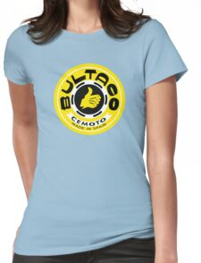 Bultaco (Yellow Black) Womens Fitted T-Shirt