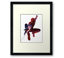 Spider Man - Diluted Framed Print