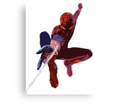 Spider Man - Diluted Canvas Print