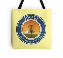 Putt Plastic In Its Place #4 Tote Bag