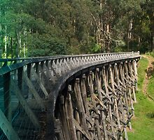Trestle Bridge by Mark Teague