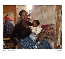 Weaver in Training, Lesotho by Lillian Trettin