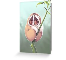Slo Loris Greeting Card