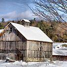 Vermont In Winter by Deborah  Benoit