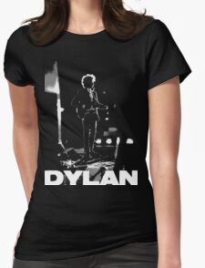 dylan on black Womens Fitted T-Shirt