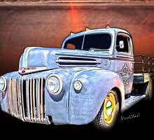 Rat Rod Flatbed Truck Texana from VivaChas! by ChasSinklier