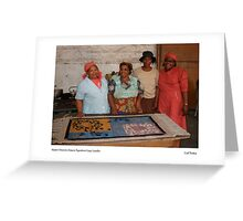 Master Weavers, Maseru Tapestries Co-op, Lesotho Greeting Card