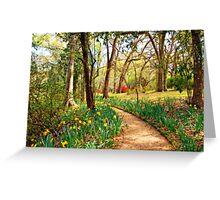 Enchanted Path Greeting Card