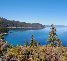 Lake Tahoe Viewed From Eagle Point by Jared Manninen