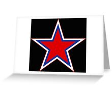 Russian Roundel Greeting Card
