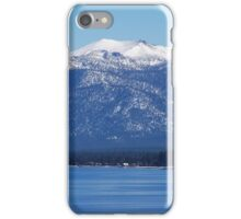 Blue Lake, Blue Sky iPhone Case/Skin
