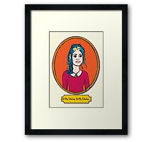 Oh My Darling Clementine Framed Print