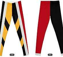 Queen of Hearts Leggings by Cat Vickers-Claesens