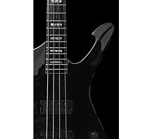 Ibanez 'Iceman Bass' Guitar Photographic Print