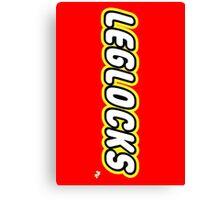Leglocks BJJ Canvas Print