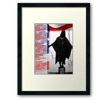 PRICE OF OIL(C2010) Framed Print