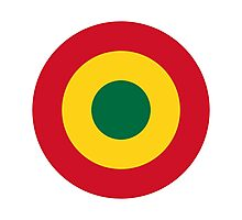 Ghana Air Force - Roundel Photographic Print