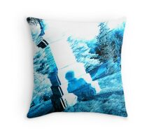 Cemetary Throw Pillow