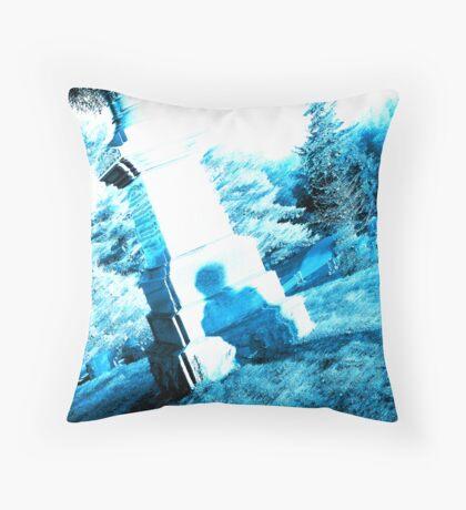 Cemetary Throw Pillow