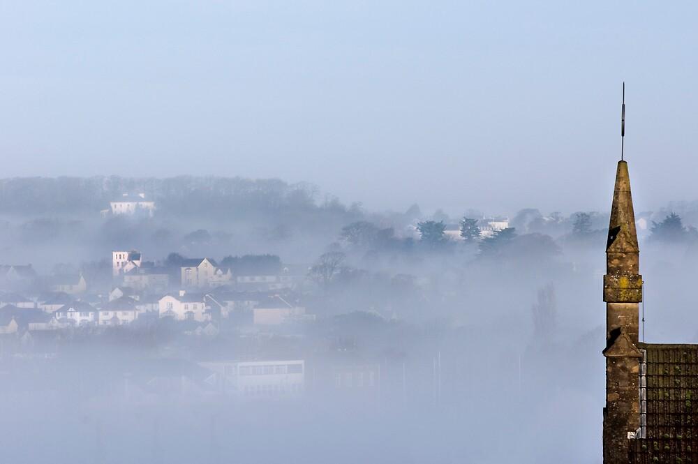 Bideford in the mist by Robert Kendall