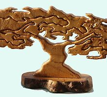 Wooden Tree (photo) by Woodie