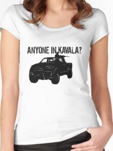 ANYONE IN KAVALA - Arma 3 Women's Fitted Scoop T-Shirt