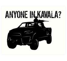 ANYONE IN KAVALA - Arma 3 Art Print