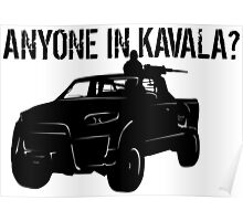 ANYONE IN KAVALA - Arma 3 Poster