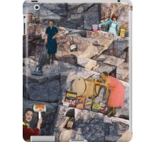 Women Clean the World iPad Case/Skin