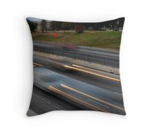 Almost Rush Hour Throw Pillow