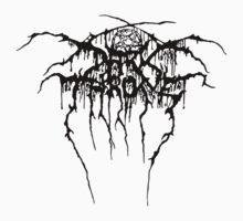 Darkthrone Logo - Black Kids Clothes