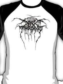 Darkthrone Logo - Black T-Shirt