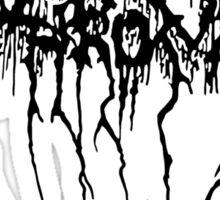 Darkthrone Logo - Black Sticker