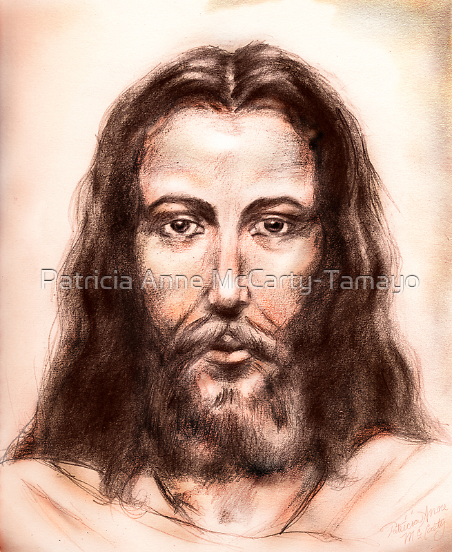 """He is Lord (""""I am the Light of the world"""") by Patricia Anne McCarty-Tamayo"""