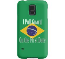 First Date BJJ (White) Samsung Galaxy Case/Skin