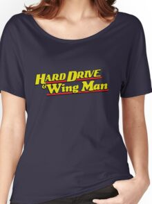 Hard Drive and Wing Man Women's Relaxed Fit T-Shirt