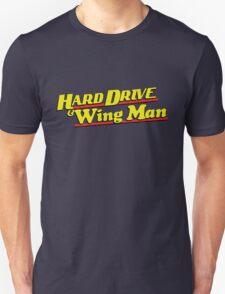 Hard Drive and Wing Man T-Shirt