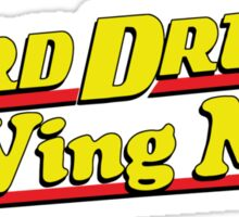 Hard Drive and Wing Man Sticker