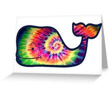 Vineyard Vines Whale Tie-Dye Greeting Card
