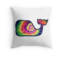 Vineyard Vines Whale Tie-Dye Throw Pillow