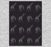 Giraffe Wallpaper Kids Clothes