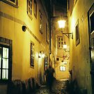 Griechengasse, Late Evening - Vienna, Austria by Eric Cook