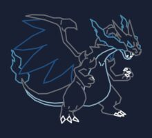 Mega Charizard X Vector by cragnoters